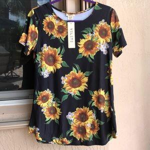 YELETE Sunflower Top